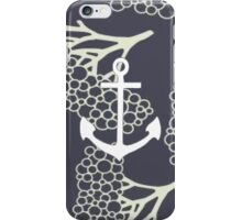 Patterned Anchor iPhone Case/Skin