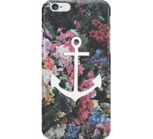 Floral Anchor 2 iPhone Case/Skin