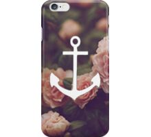 Floral Anchor 3 iPhone Case/Skin