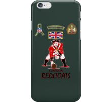 London Redcoats Salute to Service  iPhone Case/Skin