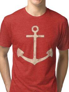 Floral Anchor 4 Tri-blend T-Shirt