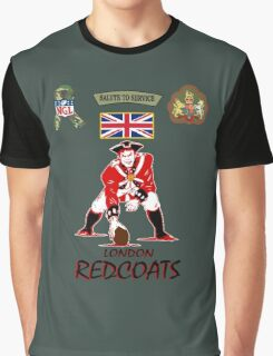 London Redcoats Salute to Service  Graphic T-Shirt
