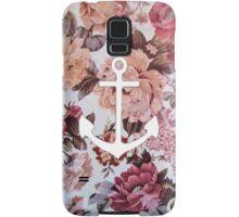 Floral Anchor 5 Samsung Galaxy Case/Skin