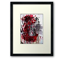 Dalek Exterminism Framed Print