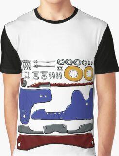 Skate Parts no-BG Graphic T-Shirt