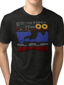 Skate Parts no-BG Tri-blend T-Shirt