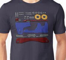Skate Parts no-BG Unisex T-Shirt