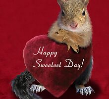Sweetest Day Squirrel by jkartlife