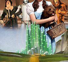 The Wizard of Oz - Emerald City by Sam Richard Bentley
