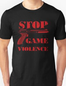 Stop Game Violence T-Shirt