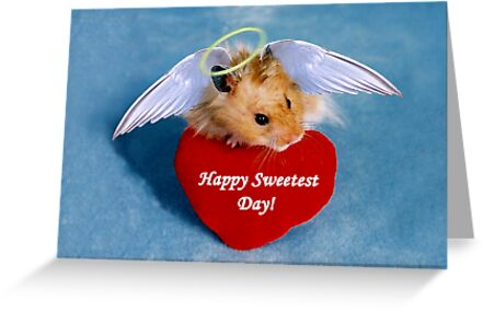 Sweetest Day Hamster by jkartlife
