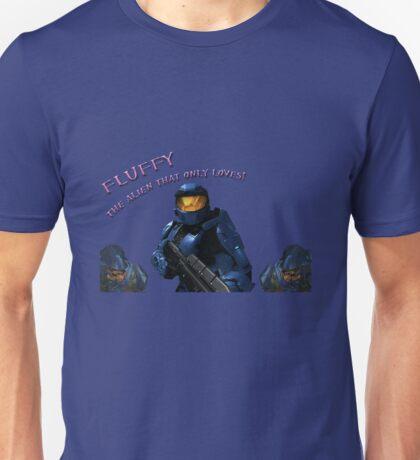 Red vs Blue Fluffy Unisex T-Shirt