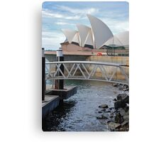Opera House, Sydney Canvas Print