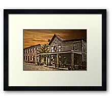 First town named for George  Washington Framed Print