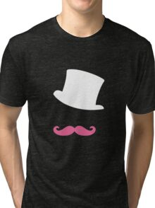 Markiplier vector design (black background) Tri-blend T-Shirt
