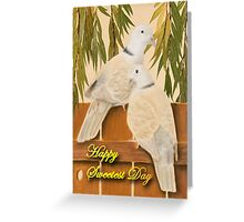 Sweetest Day Doves Greeting Card