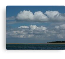 Beach and Sky Canvas Print