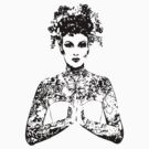 Tattoo Prayer Woman by GrimeLab