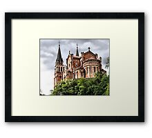 Our Lady of Covadonga Framed Print