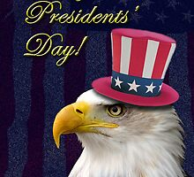 Presidents Day Eagle by jkartlife