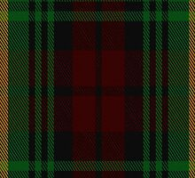 00057 Martin Clan Tartan Fabric Print Iphone Case by Detnecs2013