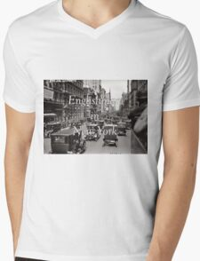 Englishman in New York Mens V-Neck T-Shirt