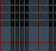 00063 Mackey (Blue) Clan Tartan Fabric Print Iphone Case by Detnecs2013