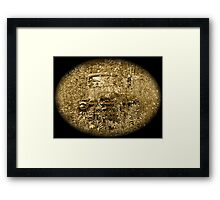 Rust and remember Framed Print