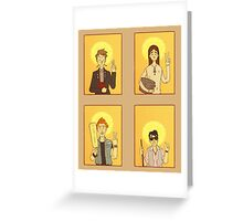 Saint Young Ones Greeting Card