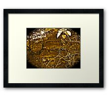 Rust and remember 4 Framed Print