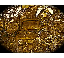 Rust and remember 4 Photographic Print