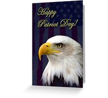 Patriot Day Eagle Greeting Card