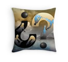Yoga Questions  Throw Pillow