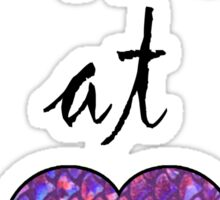 Mermaid at heart Sticker