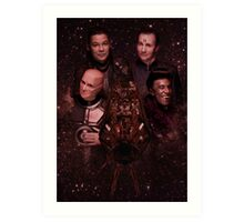 Red Dwarf - Boys from the Dwarf Art Print