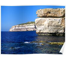 The Cliffs at Ta' Cenc Poster