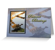 Passover Blessings Fish Greeting Card