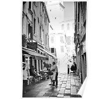 Little Street - Venice Poster