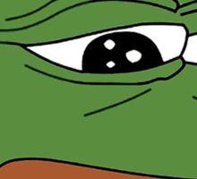 funny sad frog meme xDDDD Sticker
