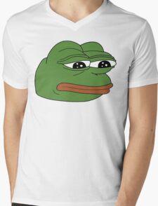 funny sad frog meme xDDDD Mens V-Neck T-Shirt