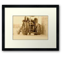 """ Moving in the Mist "" Framed Print"