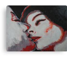 Lovers - Kiss 10 Canvas Print