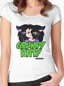 Grumpy Faith Women's Fitted Scoop T-Shirt