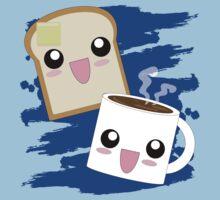 Kawaii Toast N Coffee by AnimePlusYuma