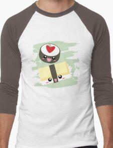 Kawaii Sushi Men's Baseball ¾ T-Shirt