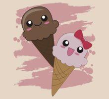 Kawaii Ice Cream by AnimePlusYuma