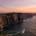 Clifftop Sunset by Kristin Repsher