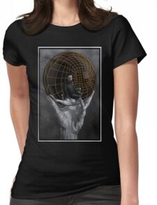 Evil Mastermind  Womens Fitted T-Shirt