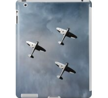 Into the gathering storm iPad Case/Skin