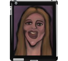 funhouse mirror iPad Case/Skin